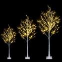 6FT Snowflake Christmas Tree with 96 LED Lamp
