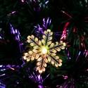 6FT Small Light Fiber Optic Christmas Tree 230 Branches