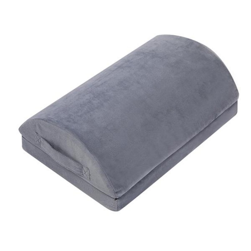 """(17 x 11.3 x 4.15/6 )"""" Memory Cotton Pedals Height Can Be Split Gray"""