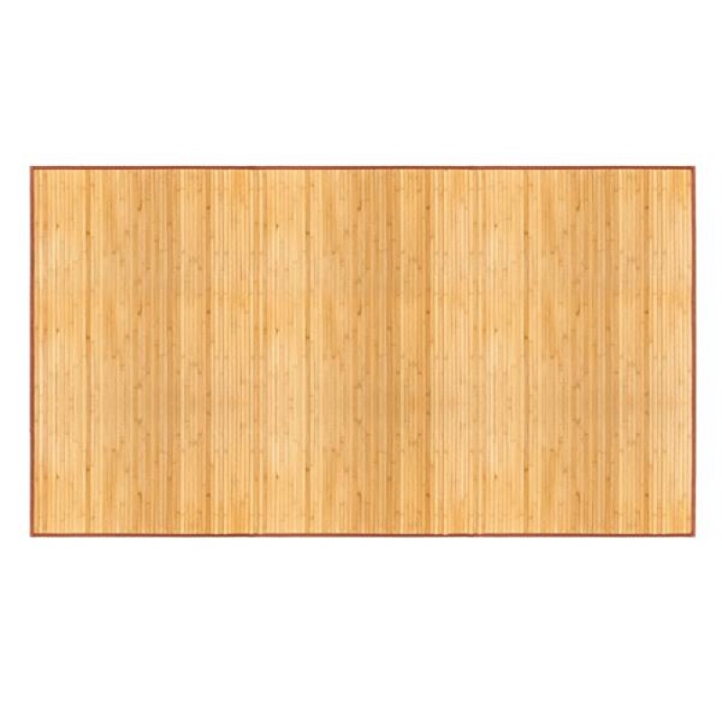 "5""*8"" Non-sliding Waterproof Bamboo Floor Mat Natural"
