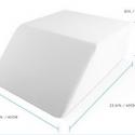 "24""*21""*8"" Sleep Restoration Memory Foam Trapezoid Leg Support Pillow"