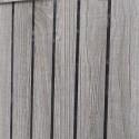 FCH Sliding Barn Door Entryway Cabinet TV Stand Gray