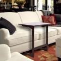 60x40x65cm L-shaped Bamboo Sofa Side Table Coffee