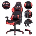 Gaming Chairs Desk Chair Office Swivel Heavy Duty Chair Ergonomic Design  Red